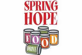 Spring Food Drive