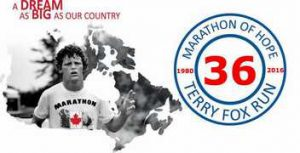 Terry Fox Run Results